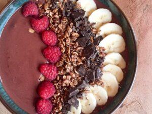 Kakao smoothie bowl