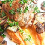Kylling i ovn med sød kartoffel