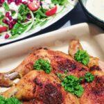 Kylling i ovn med persilledressing